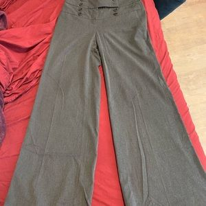 EUC Anthropologie's elevensies wide leg grey pants
